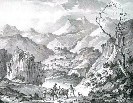 Ancient lithography of the Majella